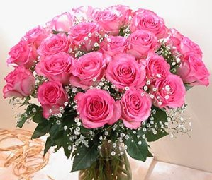 Bunch-of-lovely-pink-roses
