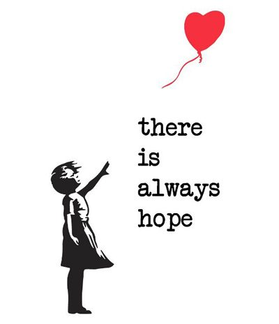 Banksy There Is Always Hope Wallpaper | www.pixshark.com ...